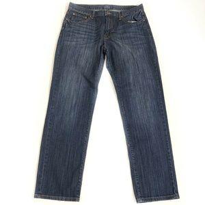 Lucky Brand 221 Original Straight Jeans Mens 34x32